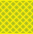 geometrical flower pattern design vector image