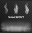 smoke effect vector image