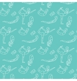 Yoga seamless pattern yoga poses Asana vector image