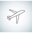 plane Icon element design vector image