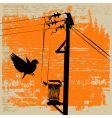 pylon grunge vector image
