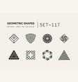 set of universal minimal geometric vector image