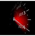 speedometer 2014 vector image