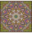 hand-drawn colored bandana vector image