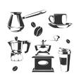 coffee making equipment vector image