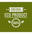 Organic Product Guaranteed Label or Badge vector image