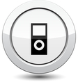 Button with system unit vector image vector image