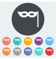 Mask icon vector image vector image