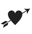 Love Heart Arrow vector image