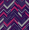 Pattern in zigzag colored vector image