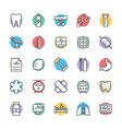 Medical and Health Cool Icons 8 vector image