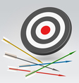 Unreachable archery target vector