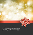 Christmas abstract background card vector image