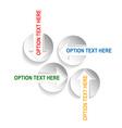 info graphic presentation vector image