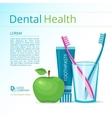 Dental health vector image