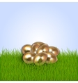 Eastern eggs collection vector image