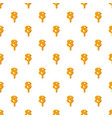 number 8 from honey pattern vector image