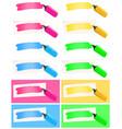highlighter and felt tip pen set vector image