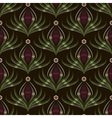 Seamless pattern graphic ornament Floral stylish vector image