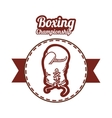 Boxing icon design vector image