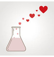 A love potion vector image