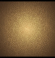 Grunge Texture Background on Brown vector image