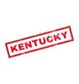Kentucky Rubber Stamp vector image