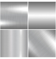Metal brushed texture vector image