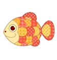 Application fish isolated vector image vector image