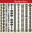 borders set vector image