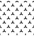 three roads pattern vector image