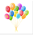 balloons decoration vector image vector image
