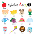Alphabet A to Z 1 vector image