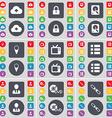 Cloud Lock Hard drive Checkpoint Retro TV List vector image