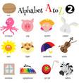 Alphabet A To Z 2 vector image