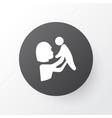 madame icon symbol premium quality isolated kid vector image