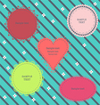 Set of cute frames vector image vector image