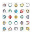 Medical and Health Cool Icons 2 vector image