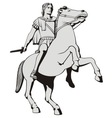 alexander the great vector image vector image