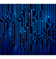 abstract circuit board vector image
