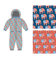 Republican baby Childrens clothing Republican vector image