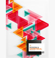 paper art style triangle pattern texture abstract vector image