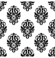 Classic black and white damask seamless pattern vector image