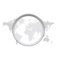 world map theme vector image