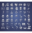 edicine and healthcare icons vector image