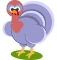 Cartoon Turkey Presenting vector image