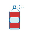spray can object vector image