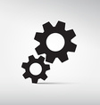 Abstract Cogs - Gears Symbols - Icons vector image