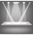 Empty Shelf vector image