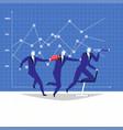 leadership teamwork concept vector image